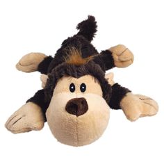 KONG Cozie Spunky the Monkey, Medium Dog Toy, Brown Minimal filling for minimal mess Extra layer of material to increase strength Squeaks to help entice play Not for chew sessions Available in 10 fun characters Dog Toys Amazon, Kong Dog Toys, Toy Monkey, Pet News, Pet Boutique, Pet Puppy, Toy Sale, Pet Gifts, Dog Supplies