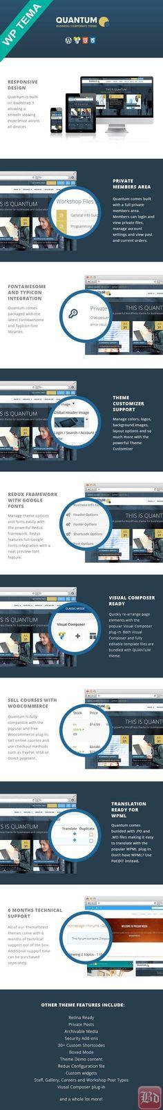 QUANTUM – Responsive Business WordPress Theme
