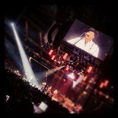 George Strait concert in Des Moines! #Instagram