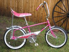 1968 Murray Eliminator - This Murray Eliminator muscle bike is a true survivor! In a rare color, this bike would stand out in any collection. Murray did a good job coming up Pink Bike, Bike Art, Ol Days, Vintage Bicycles, Good Ol, Tricycle, Cool Bikes, Motorbikes, Childhood Memories
