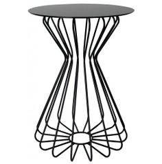notNeutral Ribbon Accent Table - Tall  in Black