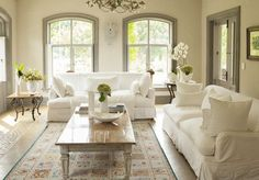 Living room decorated in neutral colors - Lee Edwards / Getty Images