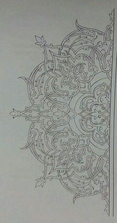 Turkish Islamic art More Más Islamic Art Pattern, Pattern Art, Stencils, Desenho Tattoo, Arabic Art, Turkish Art, Calligraphy Art, Islamic Calligraphy, Mandala Art