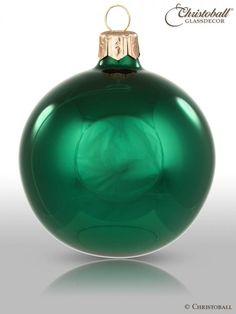 Pure Colour M / Weihnachtsgrün Spiegel-Glanz