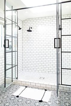 5 Refreshing Clever Ideas: Master Shower Remodel Before And After small shower remodeling tiny house.Shower Remodeling Diy Walk In single shower remodel.Shower Remodel With Window Small Bathrooms. Bathroom Goals, Basement Bathroom, Small Bathroom, Gold Bathroom, Bathroom Bin, Bathroom Showers, Bathroom Interior, Parisian Bathroom, Bathroom Canvas