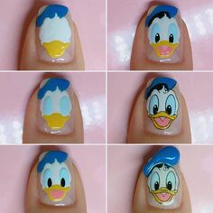 [UPDATED] 150 Best Disney Nails (April : [UPDATED] 150 Best Disney Nails (April More than 150 Disney Nails! Take this list of Disney nail design ideas to your next manicure and your nails will look amazing. Cartoon Nail Designs, Disney Nail Designs, Nail Art Designs Videos, Cute Nail Designs, Disney Acrylic Nails, Cute Acrylic Nails, Duck Nails, Owl Nails, Minion Nails