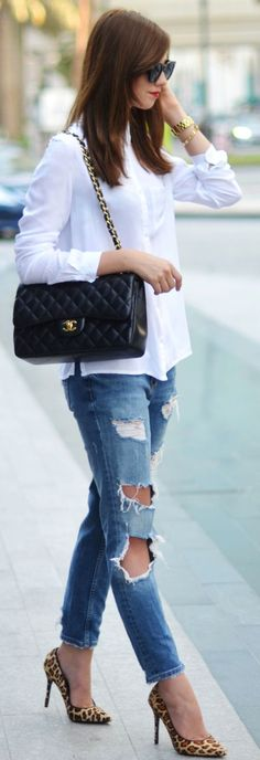 Leo Stilettos Fall Street Style Inspo by Vogue Haus