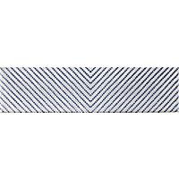 Splendours Dots Blue Decor Ceramic Subway Wall Tile 3 X