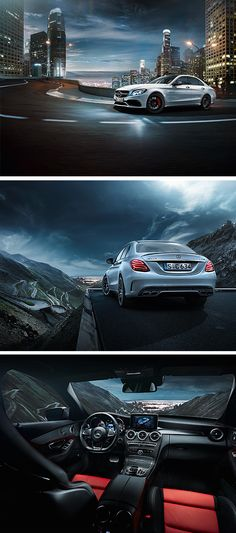 You will notice at first glance that the Mercededs-Benz C-Class has style. [Mercedes-AMG C 63 S   combined fuel consumption: 8.4-8.2 l/100km   combined CO₂ emissions: 195-192 g/km   http://mb4.me/efficiency_statement]