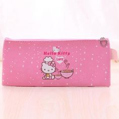 ea48836f26d Cartoon Hello kitty Spiderman pencil case for kids Cute PU Leather owl pen  bag stationery pouch for girls office school supplies