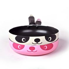 Daily Specials 18CM cute red panda frying pan pan non-stick pan limited buying - Taobao