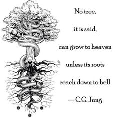 tree life hell inspiration happiness wisdom Balance psychology heaven om tree of life carl jung yin-yang C. Carl Gustav Jung Frases, Carl Jung Quotes, Wisdom Quotes, Me Quotes, Psych Quotes, Encouragement Quotes, Funny Quotes, C G Jung, Design Tattoo