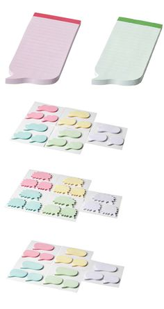 Sticky notes to remind yourself of anything you need to.