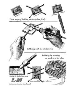 This blog has tons of soldering tips, which might finally give me courage to use my soldering gun!