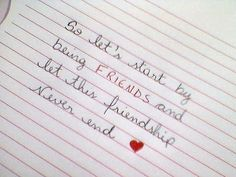 "♫""So let's start by being friends and let this friendship never end..."" ( Funny Little World - Alexander Rybak)"