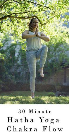 30 min Hatha Yoga Chakra Flow | Radiance Sutras Vs. 6 | Yoga with Melissa 537 Prenatal Yoga, Restorative Yoga, Namaste Yoga, Yin Yoga, Yoga Sequences, Yoga Poses, Surya Namaskara, Fertility Yoga, Bridge Pose