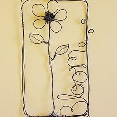 Wire Wall Art poppy flower metal art - grandin road | home | pinterest | metals