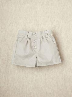 Siaomimi Girls Herringbone Shorts