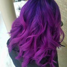 Vivid Hair Color, Cute Hair Colors, Hair Color Purple, Hair Color And Cut, Cool Hair Color, Vintage Hairstyles, Cool Hairstyles, Drawing Hairstyles, Lilac Hair