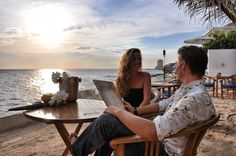 Perfect spot to have a romantic dinner with your loved one! Scuba Lodge Restaurant, Pietermaai - Willemstad, Curaçao