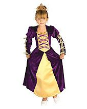 Kids Regal Queen Costume In this regal princess costume you will be the queen of Halloween. It features a beautiful ankle length dress, long sleeves and th Captain Marvel Halloween Costume, Queen Halloween Costumes, Party Costumes, Costume Ideas, Costume Craze, Costume Shop, Luis Ix, Anastasia Costume, Teen Girl Costumes