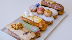 Winter collection of Soirette Macaron's Eclair line