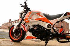 Flash   Honda Grom Honda Grom Custom, Video New, Motorcycle Gear, Custom Bikes, Badass, Angel, Cars, Vehicles, Life