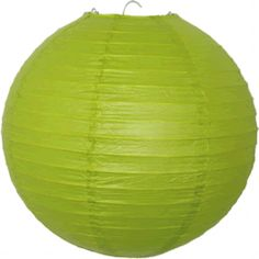 Chartreuse Paper Lanterns