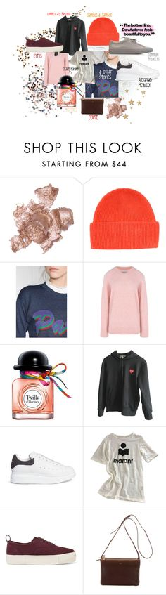 """dreaming of"" by elsssas on Polyvore featuring By Terry, Samsøe & Samsøe, Hermès, Comme des Garçons, Alexander McQueen, Étoile Isabel Marant, Eytys and Common Projects"