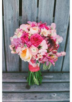 Un bouquet aux couleurs vives pinterest mariage
