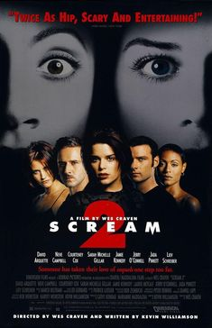Scream 2 - Review: Scream 2 (1997) is an American mystery slasher horror film that is the second installment in the Scream… #Movies #Movie