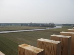 Great view over the Vecht river and the Vechtdal area - viewing tower De Stokte #Dalfsen #Overijssel