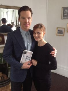 Benedict Cumberbatch and Louise Brealey for 'My Dear Bessie'