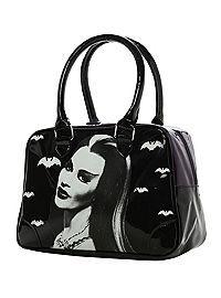 HOTTOPIC.COM - Rock Rebel Lily Munster Purple Bowling Bag