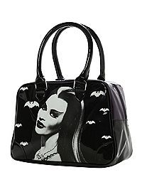 HOTTOPIC.COM - Rock Rebel Lily Munster Purple Bowling Bag