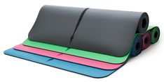 Liforme Evolve Yoga Mat - Pink | Featuring A Refined Alignment System