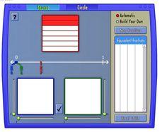 Recursos para el aula: Recurso TIC para crear fracciones equivalentes
