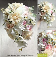 waterfall shape bouquet, 30% flower material surcharge will be applied.
