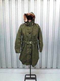 Vtg British parka RAF arctic parka 50s Vtg windproof parka RAF ventile parka 60s in Collectables, Militaria, World War II (1939-1945) | eBay!