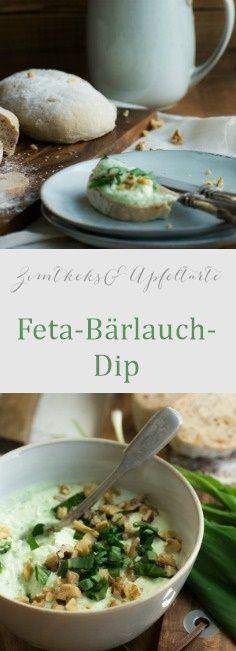 Feta-Bärlauch-Dip