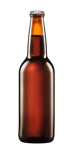 Beer bottle for mockups.