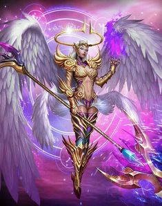 Angel of the Crystal Gate Fantasy Art Angels, Fantasy Art Women, Beautiful Fantasy Art, Dark Fantasy Art, Fantasy Girl, Fantasy Artwork, Fantasy Female Warrior, Angel Warrior, Female Art