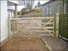 1000 Images About Fencing On Pinterest Farm Gate Horse Fencing And Wood Gates