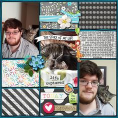 I used Life Captured the newest Digichick Designer's collab, template is Project Temps vol 2 by Amanda Yi Designs.