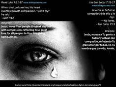 Yes, God cares  +  Sí, a Dios le importa  +  http://www.biblegateway.com/passage/?search=luke%207:11-17