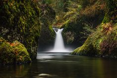 "500px / Photo ""Punch Bowl Falls"" by Brian Powers"