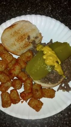 The  Blue Mill Tavern Loosemeat Sandwich 3/27 Made these! Just like those old Maid Rites we used to get for lunch.