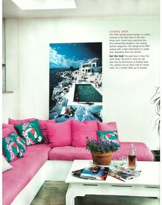 Built in.  Living Etc May 2011 via Bright Bazaar