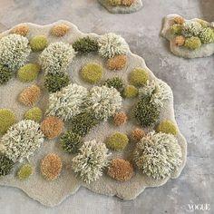 阿根廷藝術家ALEXANDRA+KEHAYOGLOU「草坪地毯」讓家增添自然綠意。