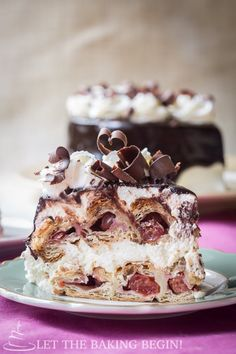 Honeycomb Cherry Cake  - magnificent on taste and presentation, while pretty simple to make.